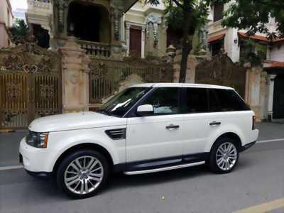 Cần bán xe LandRover Range Rover Sport 2010 màu trắng nhập Anh