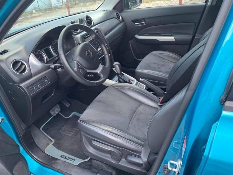 Cần bán gấp xe Suzuki vitara 2016, số tự động, màu xanh, zin cọp
