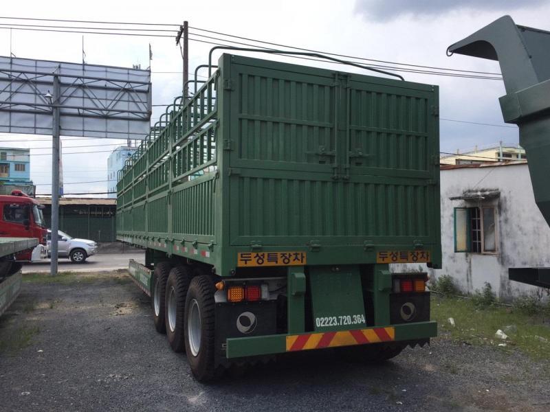 Cần bán Rơ Mooc tải khung mui Doosung 3 trục 40 feet