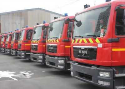 Xe bồn chữa cháy MAN nhập khẩu Đức 2016