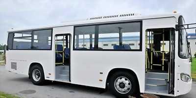 Lô mới về 02 xe buýt BS090 Daewoo, 60 chỗ, Đời 2016