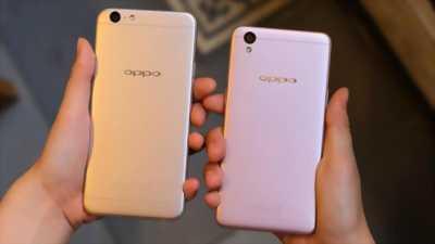 Điện thoại oppo A39 màu vàng hồng ngoại hình đẹp