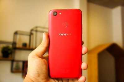 Oppo F5 đỏ zin đẹp 98 còn bảo hành dài huyện trần văn thời