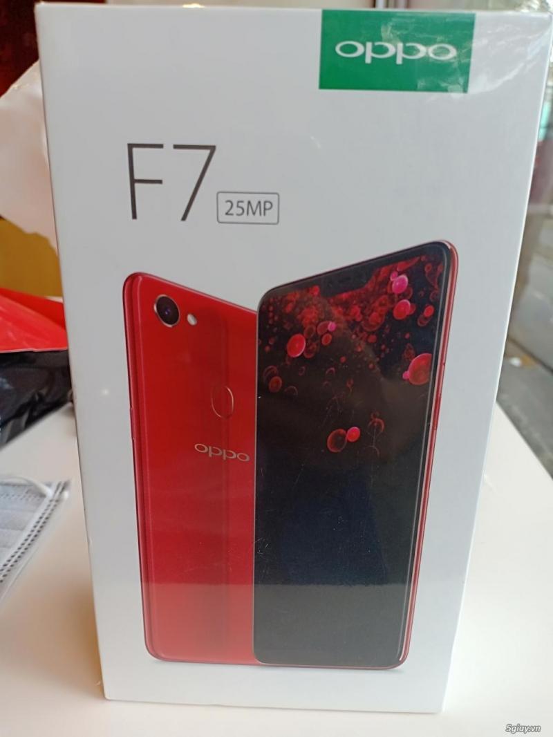 Máy F7 đỏ fullbox mới 100%