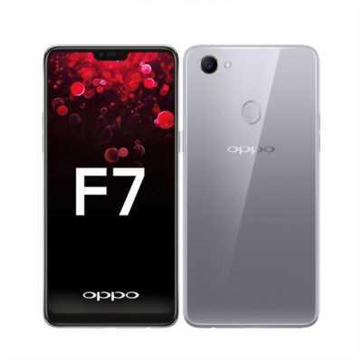 Oppo F7 64G Silver BH 4/2019-BÁN GÓP
