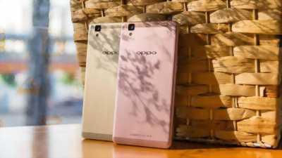 Điện thoại Oppo a83 vàng hồng ở Hà Nội