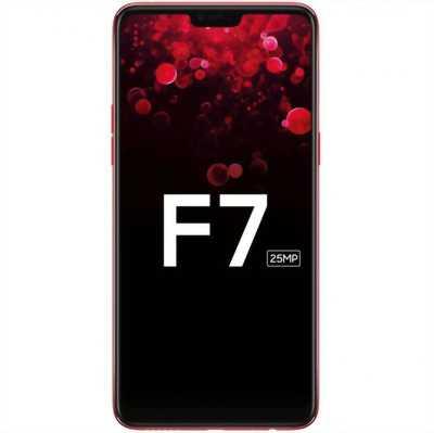 Oppo F7 đỏ phong thủy gam 4/64g full hộp bh 2019