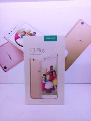 Oppo F3 Plus 64 GB Vàng hồng Fullbox