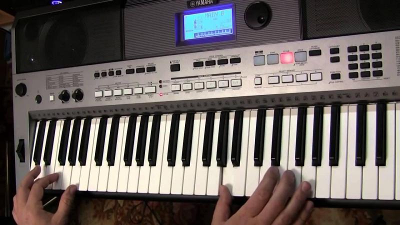 Hướng dẫn sử dụng đàn organ yamaha e443