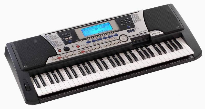 Giá đàn organ yamaha psr 550 cũ và mới là bao nhiêu