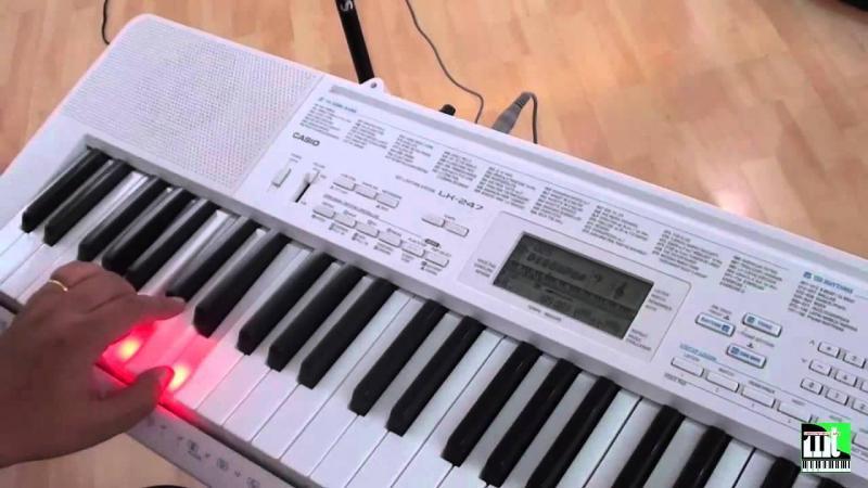 Đàn organ Casio LK113 chính hãng Nhật