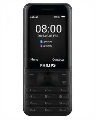 Philips Xenium E181 Black+Gold (2 sim,pin 3100mAh)