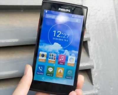 Philips s337 đen android 5.1,Ram 1GB,5in HD quận 1