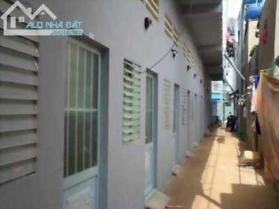 Bán dãy nhà trọ đẹp trên đường Trần Đại Nghĩa, mới xây 12 phòng , sổ hồng riêng, giá 1,2 tỷ