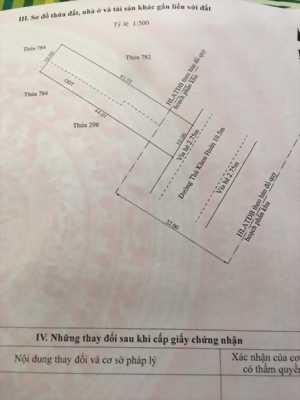 Mặt tiền thủ khoa huân 10x44 có 161m2 thổ cư.