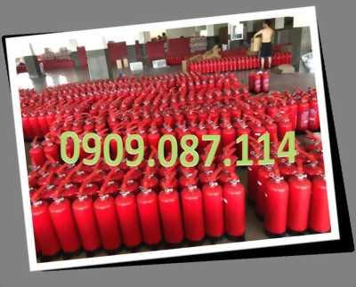 Bình chữa cháy bôt, co2 giá rẻ 0909.087.114