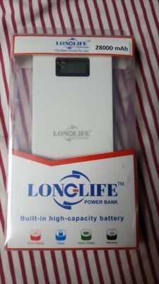 Pin sạc dự phòng Longlife 28000mAh