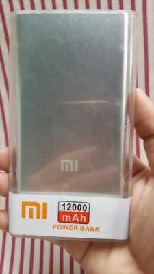 Pin sạc dự phòng Xiaomi 12000mAh|pin sạc dự phòng siêu mỏng