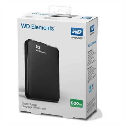 Ổ cứng di động WD Elements 500gb mới