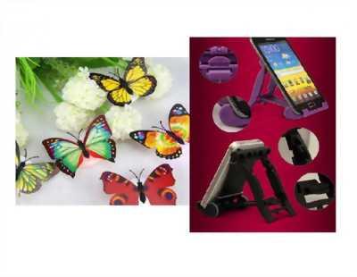 COMBO 2 món: 5 Đèn Led bướm phát quang dán tường