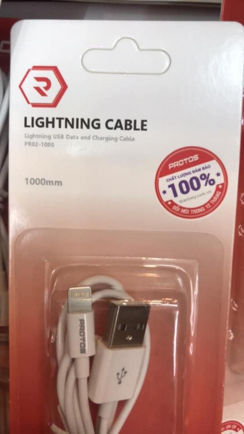 Cáp sạc Iphone cổng lightning Protos chính hãng