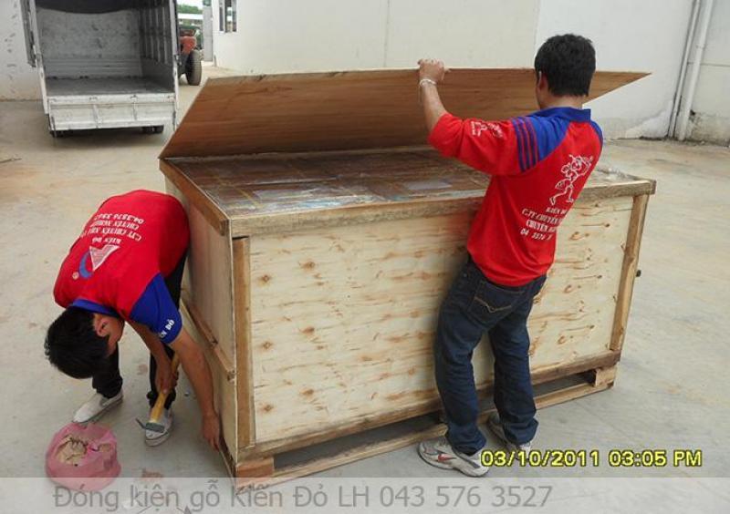 Dịch vụ đóng thùng gỗ xuất khẩu