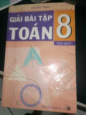 Sách giải lớp 6,7,8,9
