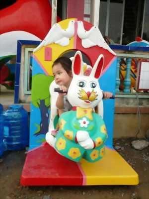 Thú Nhún Hình Con Thỏ Cho Trẻ Em TND-003