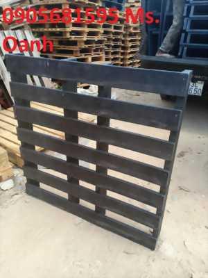 Bán nhanh lô Pallet nhựa giả gỗ màu Đen rất nặng và chắc chắn tại Đà Nẵng 0905681595