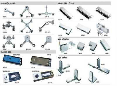 Chuyên cung cấp phụ kiện nhôm kính các loại tại Phú Quốc
