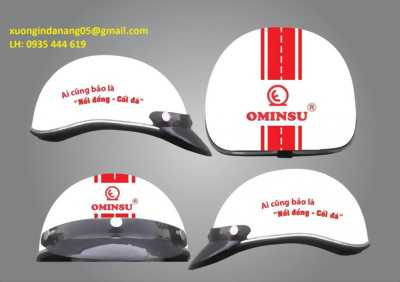 xưởng in mũ bảo hiểm quảng cáo Đà Nẵng 0935 444 619