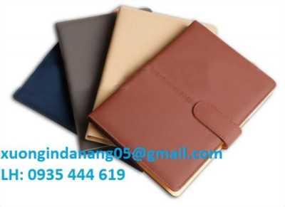 In logo Công ty sổ da quà tặng khách hàng giá rẻ Đà Nẵng 0935 444 619
