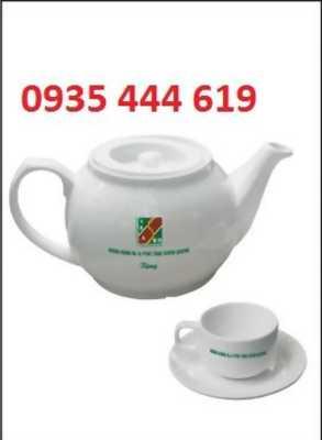 Ấm trà in logo quà tặng tết khách hàng tại Đà Nẵng