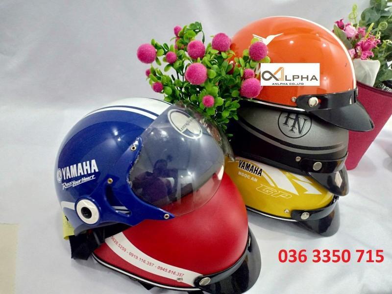 Sản xuất nón bảo hiểm quảng cáo giá rẻ , in ấn logo theo yêu cầu