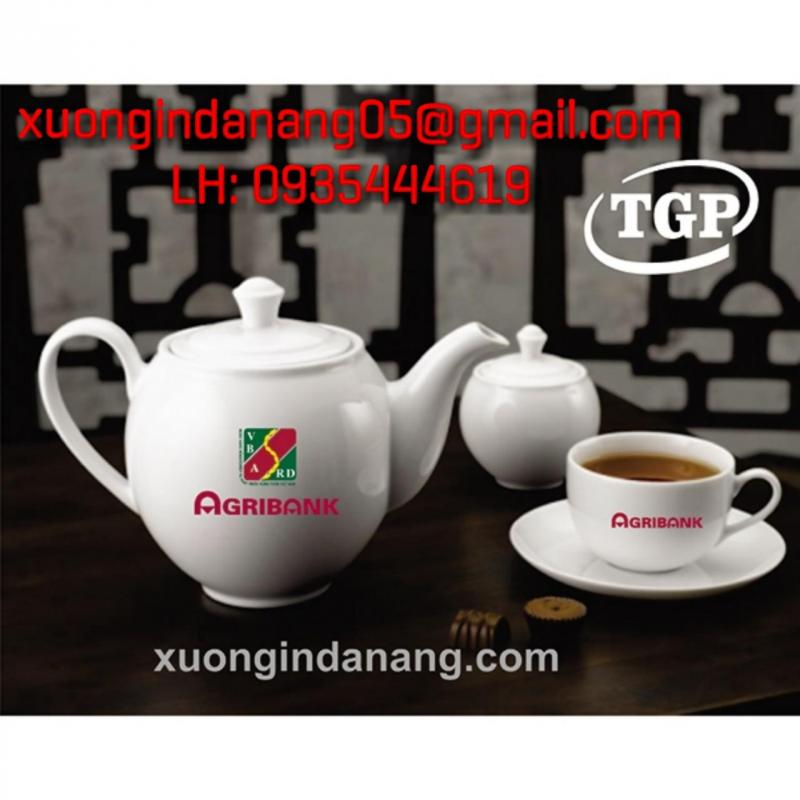 in ly thủy tinh, in ấm chén trà, in cốc sứ quà tặng theo yêu cầu Đà Nẵng 0935 444 619