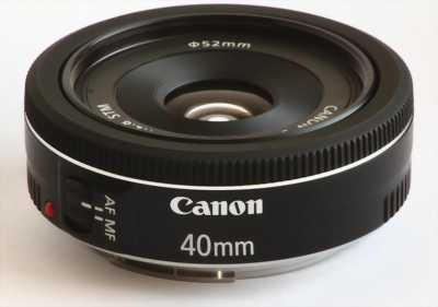 Bán Lens Canon 40 f2.8 STM.