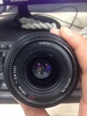 Cần bán lens Minolta af fix 28 f2.8 ngàm a chất lượng đảm bảo, giá rẻ cực sốc