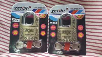 Ổ khóa cửa nhà Zetop chống cắt, chống cưa
