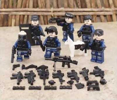 Set Lego Cảnh sát đặc nhiệm 2017