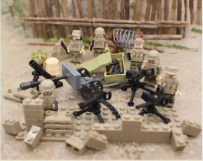 Set Lego Quân Đội 2017