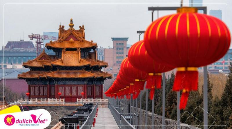 Tour du lịch Trung Quốc Tết nguyên đán 2020 khám phá Vạn lý trường thành