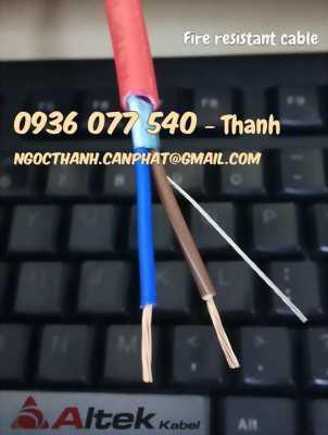Cáp chống cháy Altek kabel nhập khẩu