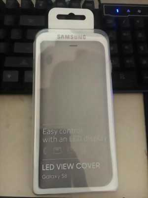 Bao da Samsung Galaxy S8 Led view cover