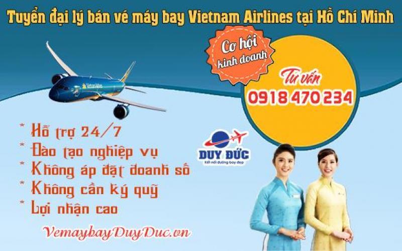 Tuyển đại lý bán vé máy bay Vietnam Airlines tại Hồ Chí Minh