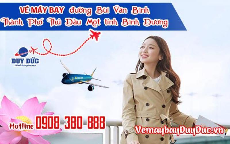 Vé máy bay đường Bùi Văn Bình Thành Phố Thủ Dầu Một tỉnh Bình Dương