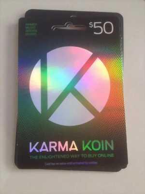 Bán thẻ thanh toán trực tuyến thẻ Karma Koin Global