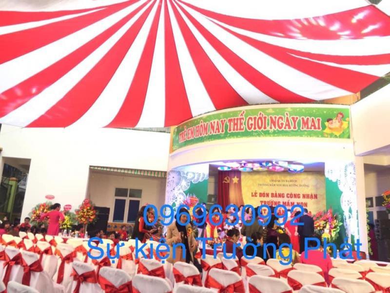 cho thuê đồ tổ chức sự kiện ô dù, bàn ghế, backdrop, sân khấu, nhà bạt 0969630992