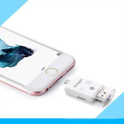 OTG Idragon mở rộng bộ nhớ cho điện thoại,ipad,máy tính bảng  IOS và Androi