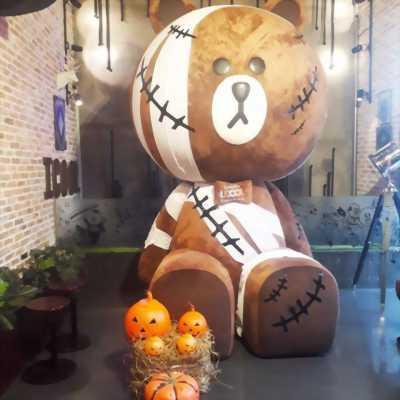 Gấu brown khổng lồ,gấu ikool giá rẻ tphcm
