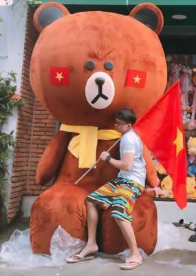 Bán gấu bông khổng lồ trưng bày tphcm